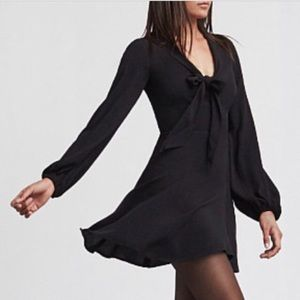 Black Reformation Rosetta Dress.